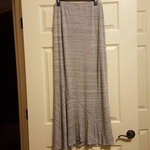 Gray Mossimo maxi skirt